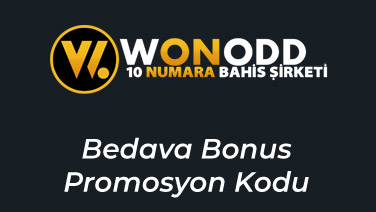Wonodd Bedava Bonus Promosyon Kodu